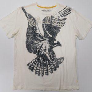 Nautica Mens Graphic T-Shirt White XL